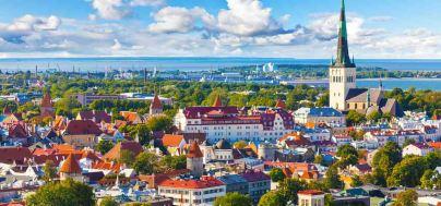Vaade Tallinnale ja selle vanalinnale